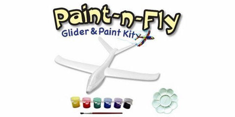 JPOWER Eagle Paint 'N' Fly Glider With Paint 562mm (JPOWER30318)