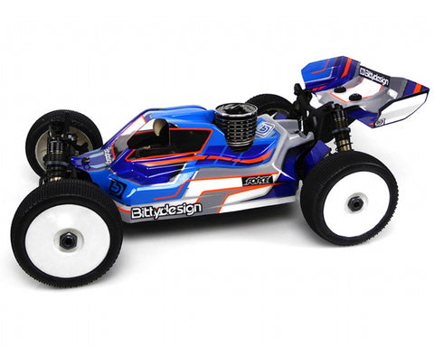 BITTYDESIGN FORCE clear 1/8 buggy body Tekno RC NB48.3 (BDFRC-TK48.3)
