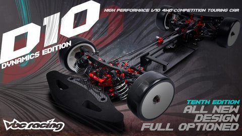 VBC WildFireD10 Dynamics Edition 1:10 Touring Car Kit