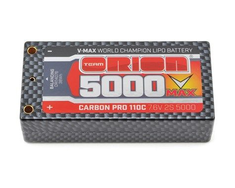 Team Orion 2S Carbon V-Max 110C LiPo Shorty Pack Battery (ORI14076)