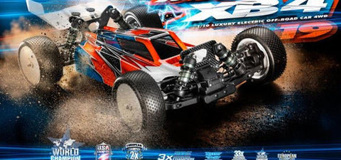 XRAY XB4- 2019 4WD 1/10 ELECTRIC OFF ROAD CAR KIT (XY360006)