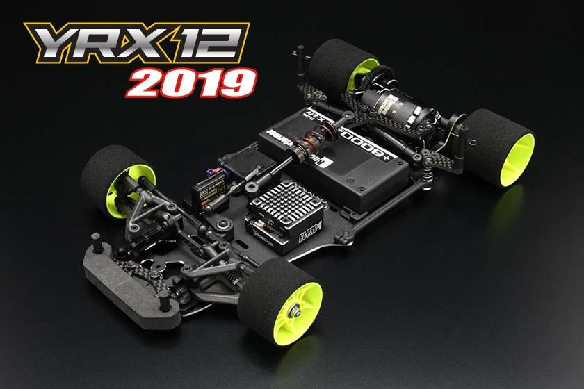 YOKOMO YRX-12 2019 Edition 1/12th pan car kit (Y-YR-X1219)