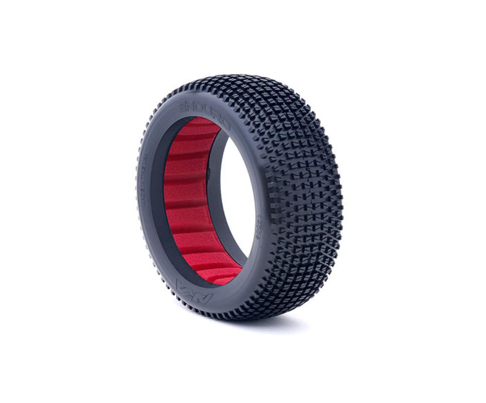AKA 1:8 BUGGY ENDURO (SOFT - LONG WEAR) W/ RED INSERTS