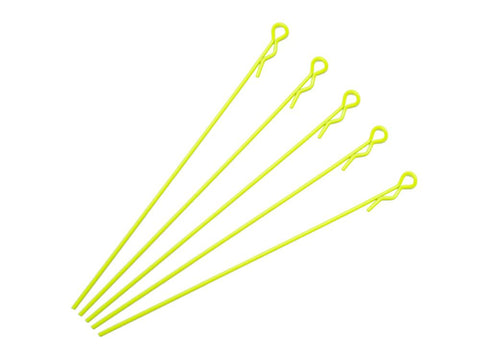 ARROWMAX Extra Long Body Clip 1/10 - Fluorescent Yellow (5)(AM-103127)