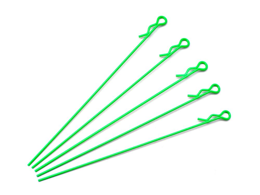 ARROWMAX Extra Long Body Clip 1/10 - Fluorescent Green (5)(AM-103128)