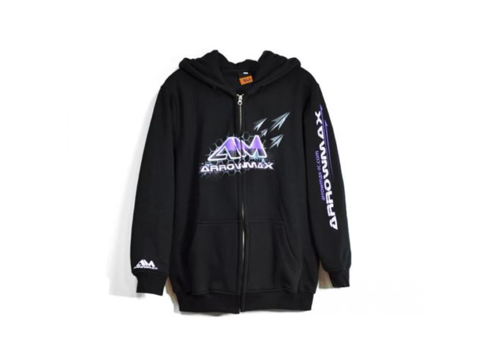 ARROWMAX Arrowmax Sweater Hooded - Black  (XXXXL)