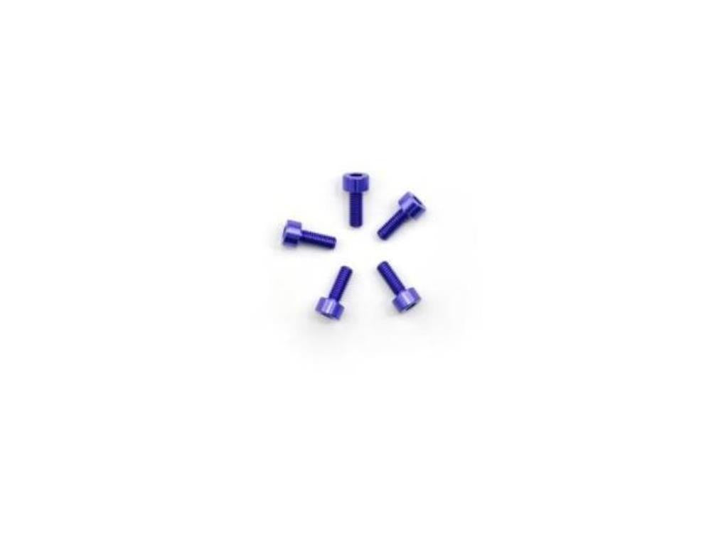 ARROWMAX Alu Screw allen cilinder head M3x8 Purple (7075) (5)