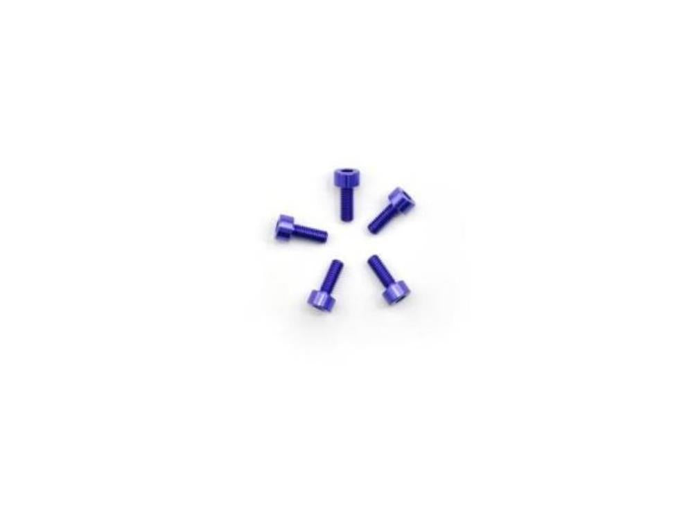 ARROWMAX Alu Screw Allen Countersunk M3X8 Purple (7075) (5)(AM-14CS3008-P)