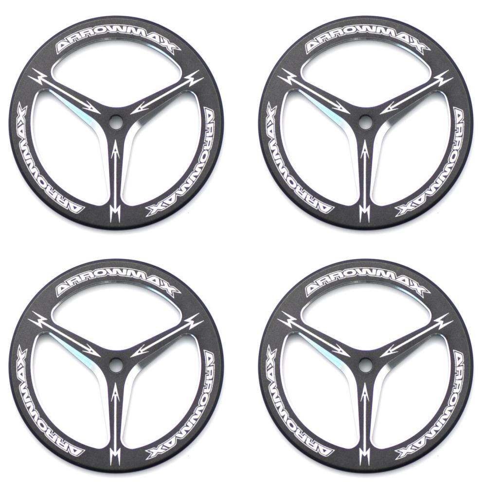 ARROWMAX Alu Set-Up Wheel For Rubber Tires (4)(AM-170007)