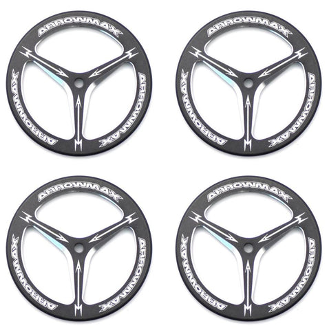 ARROWMAX ALU SET-UP WHEEL FOR RUBBER TIRES (4)