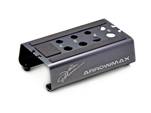 ARROWMAX Set-Up Frame (X) For 1/10 Off-Road Cars With Jörn Neumann Signature