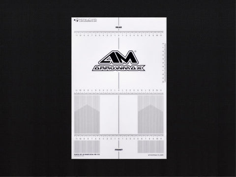 ARROWMAX Plastic Set-Up Board Decal For 1/10(AM-170074)