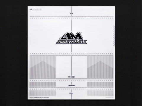 ARROWMAX Plastic Set-Up Board Decal For 1/8 Off-Road & Truggy(AM-170075)