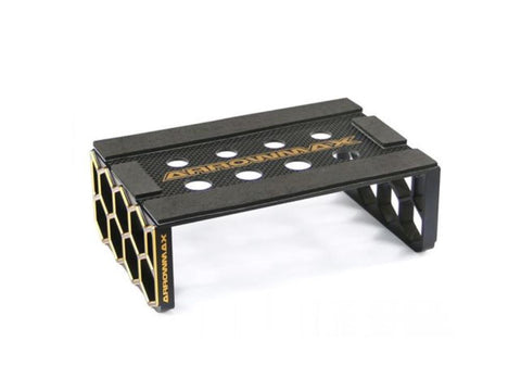 ARROWMAX Set-Up Frame For 1/10 Off-Road Cars Black Golden