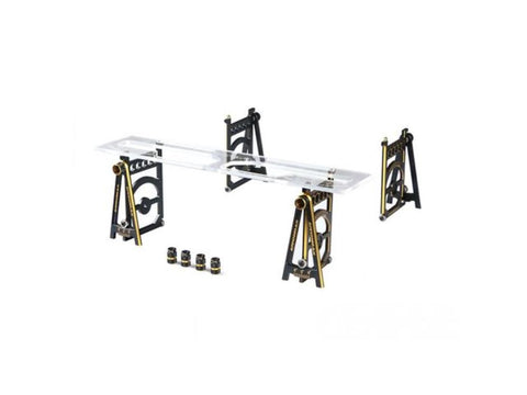 ARROWMAX Set-Up System For 1/10 Touring Cars With Bag Black Golden