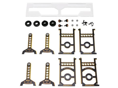 ARROWMAX Set-Up System For 1/8 On-Road Cars With Bag Black Golden(AM-171044)