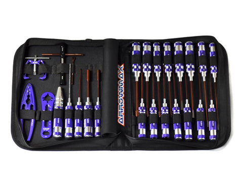 ARROWMAX AM Toolset For On-ROAD (25pcs) with Tools bag