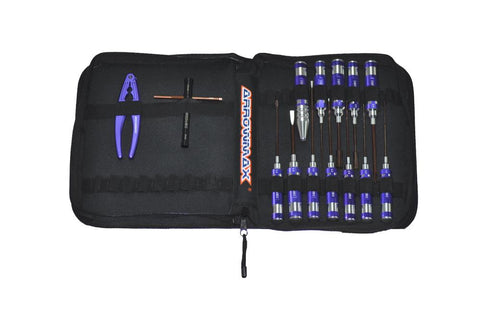 ARROWMAX AM Toolset (14Pcs) With Tools bag (AM-199406)