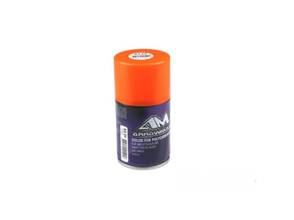 ARROWMAX AM 100ml Paintsprays, AS24 Fluorescent Orange