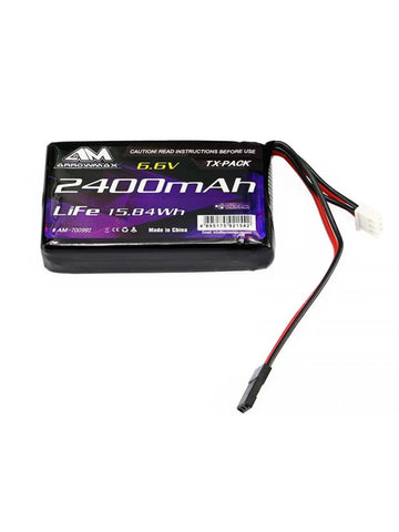 ARROWMAX Lipo 2400mAh 6.6V For Futaba 4PK/4PX/4PV/7PX (AM-700992)