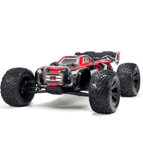 ARRMA KRATON BLX SPORT PERFORMANCE TRUCK (RED) WITHOUT BATTERY & CHARGER