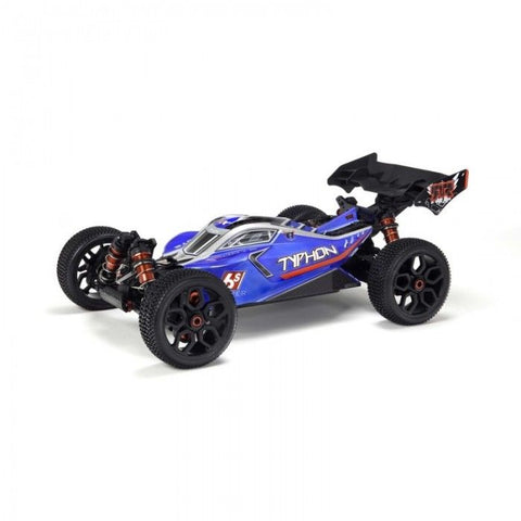 ARRMA TYPHON BLX 4WD BUGGY (BLUE) WITHOUT BATTERY & CHARGER