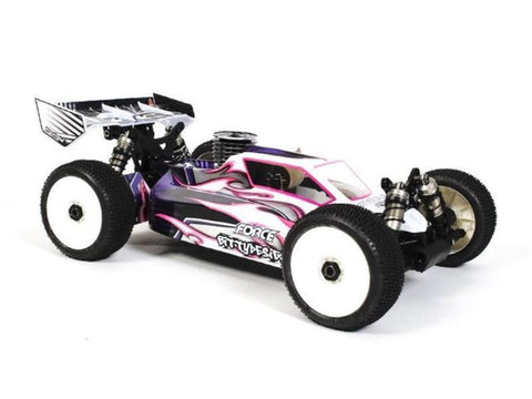 BITTYDESIGN Force clear 1/8 buggy body Hot Bodies D812