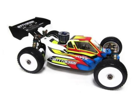 BITTYDESIGN Force clear 1/8 buggy body JQ THE Car
