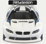 BITTYDESIGN M15 Clear 1/10 TC body