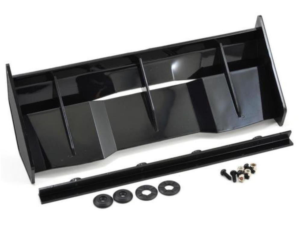 BITTYDESIGN Stealth wing kit for 1/8 buggy-truggy | Black