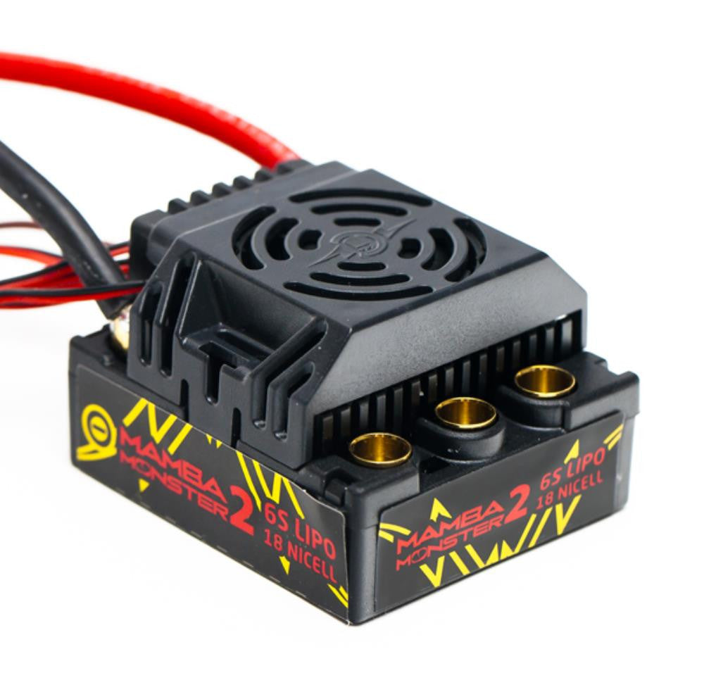 MAMBA MONSTER 2 1:8TH 25V EXTREME CAR ESC WATERPROOF WITH 220