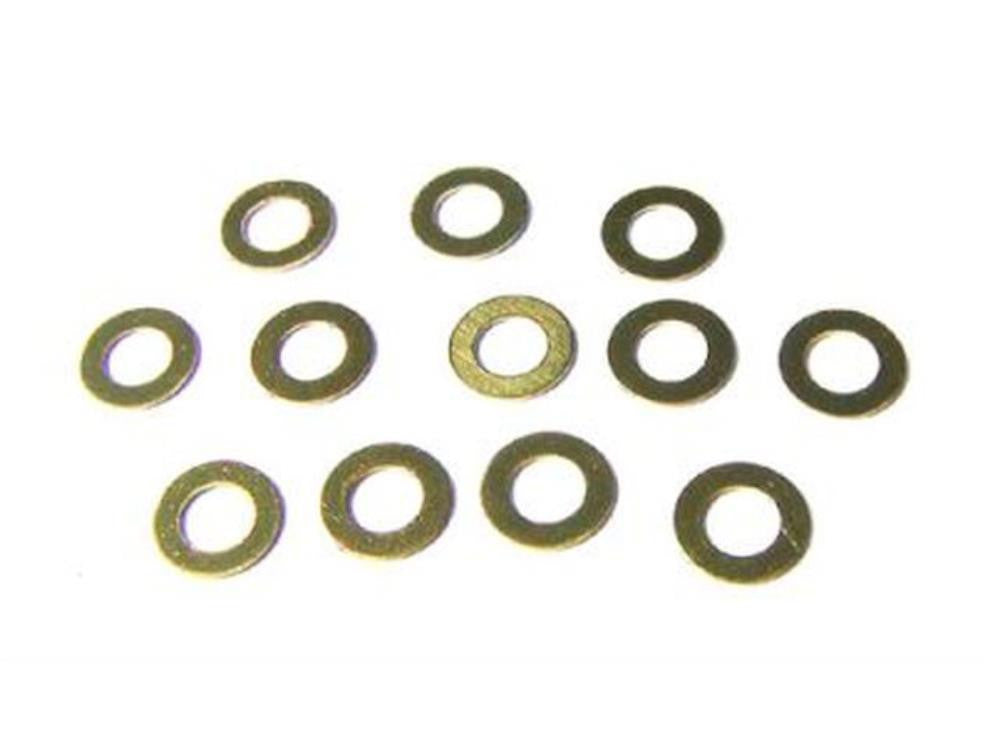 FANTOM .020 Brass  Motor Shims (pack of 12)