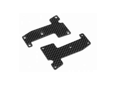 HB WOVEN GRAPHITE ARM COVERS (FRONT) ( HB111741 )