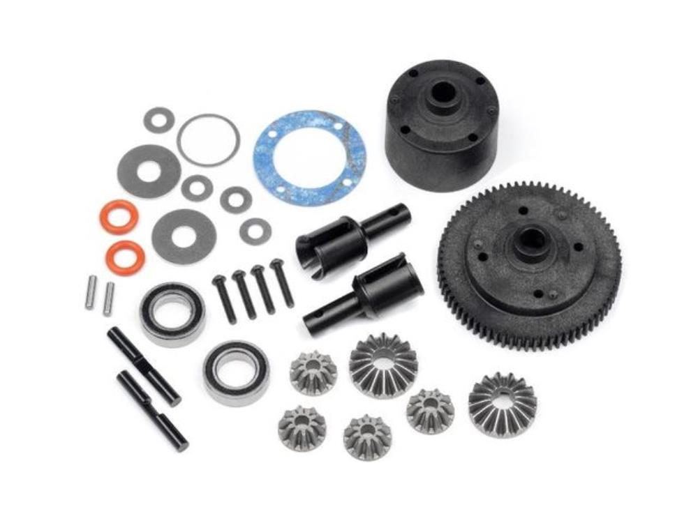 HB CENTER GEAR DIFFERENTIAL SET D418/D413 (72T) ( HB112784 ) (HB112784)