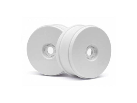 HB 1/8 BUGGY DISH WHEELS V2 (WHITE/4pcs) ( HB114201 )