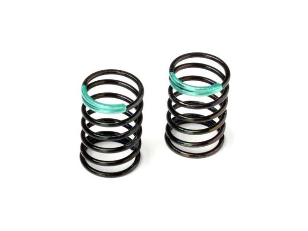 HB RACING SHOCK SPRING 14x25x1.5mm 6.75 (GREEN/2pcs) ( HB114531 )