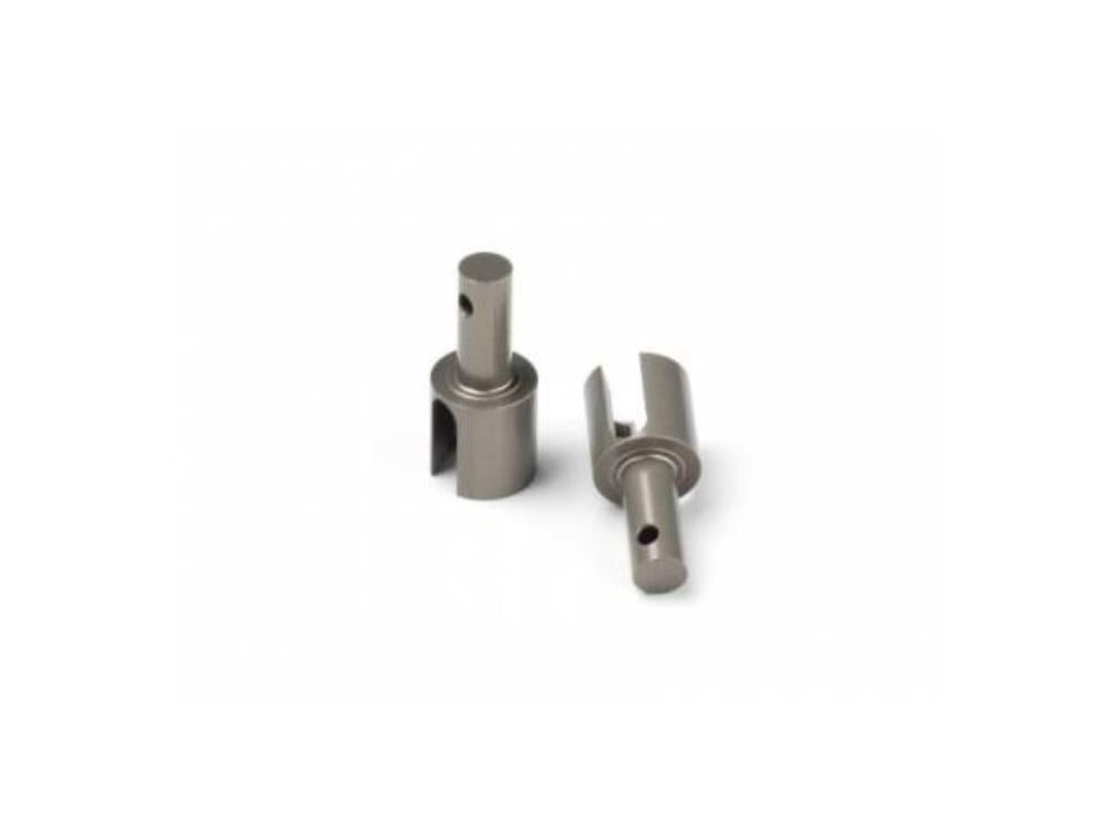 HB ALUMINUM DIFF CUP JOINT V2 (HARD COATED/2pcs) ( HB114543 )