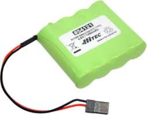 RX NiMH BATTERY PACK 4.8V, 1300mAh S-01(FLAT TYPE)