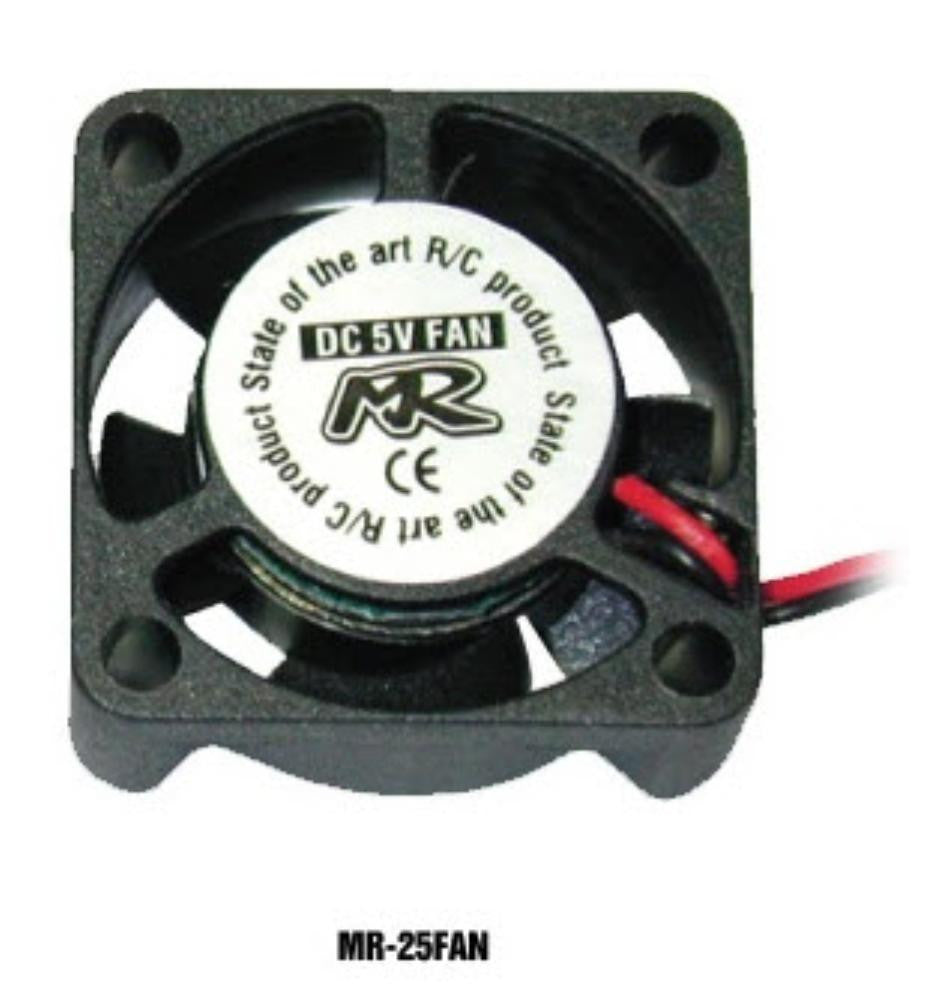 MUCHMORE Motor & ESC Cooling Fan 25mmx25mm
