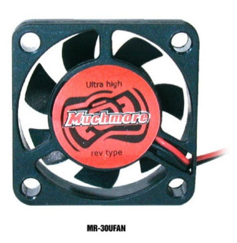 MUCHMORE Motor & ESC Ultra High RPM Cooling Fan 30mmx30mm