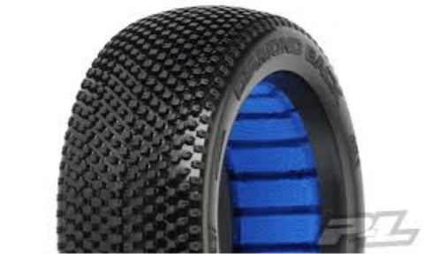 PROLINE Diamond Back X3 (Soft) Off-Road 1:8 Buggy Tires (2) for Front or Rear