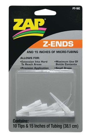 ZAP Z-Ends Tips w/micro dropper