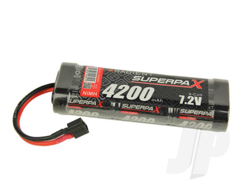 RADIENT 4200mah 7.2V 6 CELL NIMH