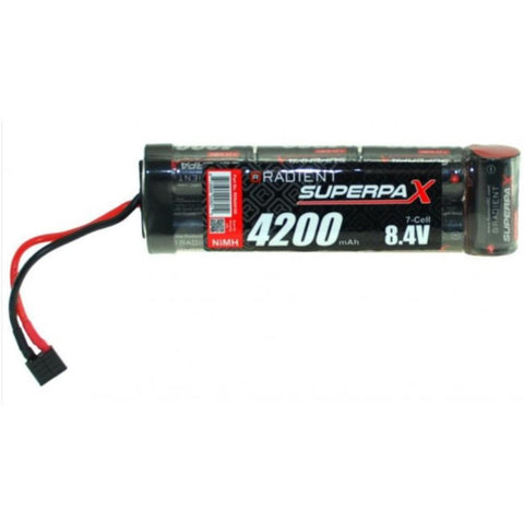 RADIENT SUPERPAX NIMH BATTERY 8.4V 4200MAH STICK