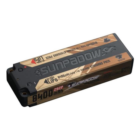 Sunpadow 7.4V 2S 8400mAh 120C/60C LiPo Battery (S684064)