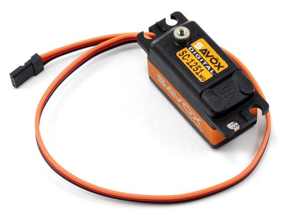 SAVOX Low Profile High Speed Metal Gear Digital servo 1251MG