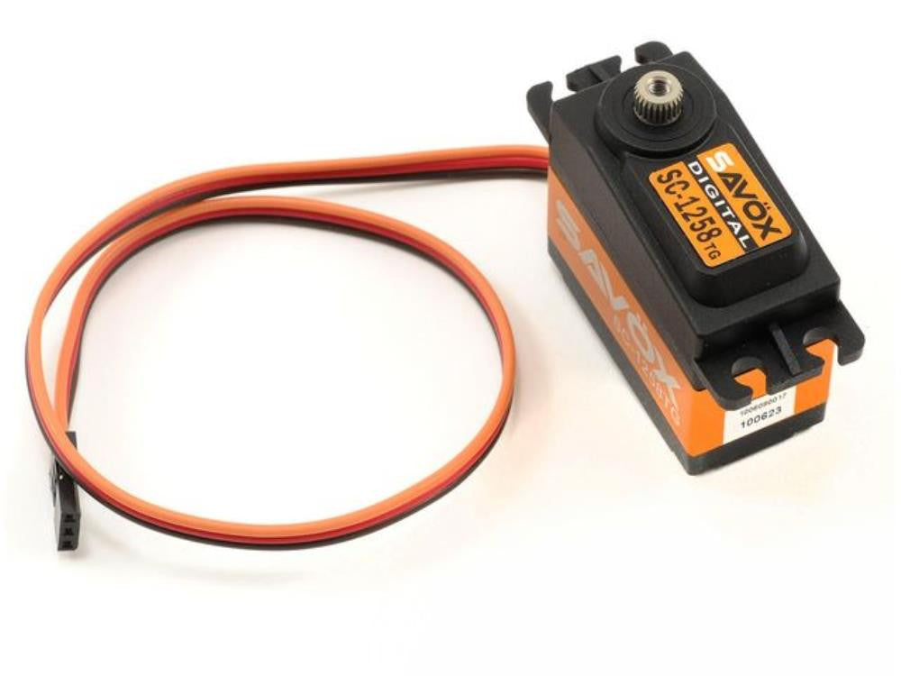 SAVOX Super speed titnaium gear digital servo 1258TG