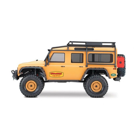 Traxxas TRX-4 LIMITED ED. CAMEL TROPHY-TAN 1/10 Scale Trail Rock Crawler w/Land Rover Defender Body
