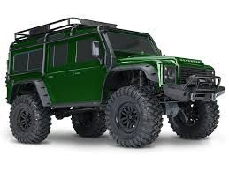 Traxxas TRX-4 1/10 Scale Trail Rock Crawler w/Land Rover Defender Body