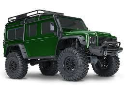 Traxxas TRX-4 1/10 Scale Trail Rock Crawler w/Land Rover Defender Body (GREEN)